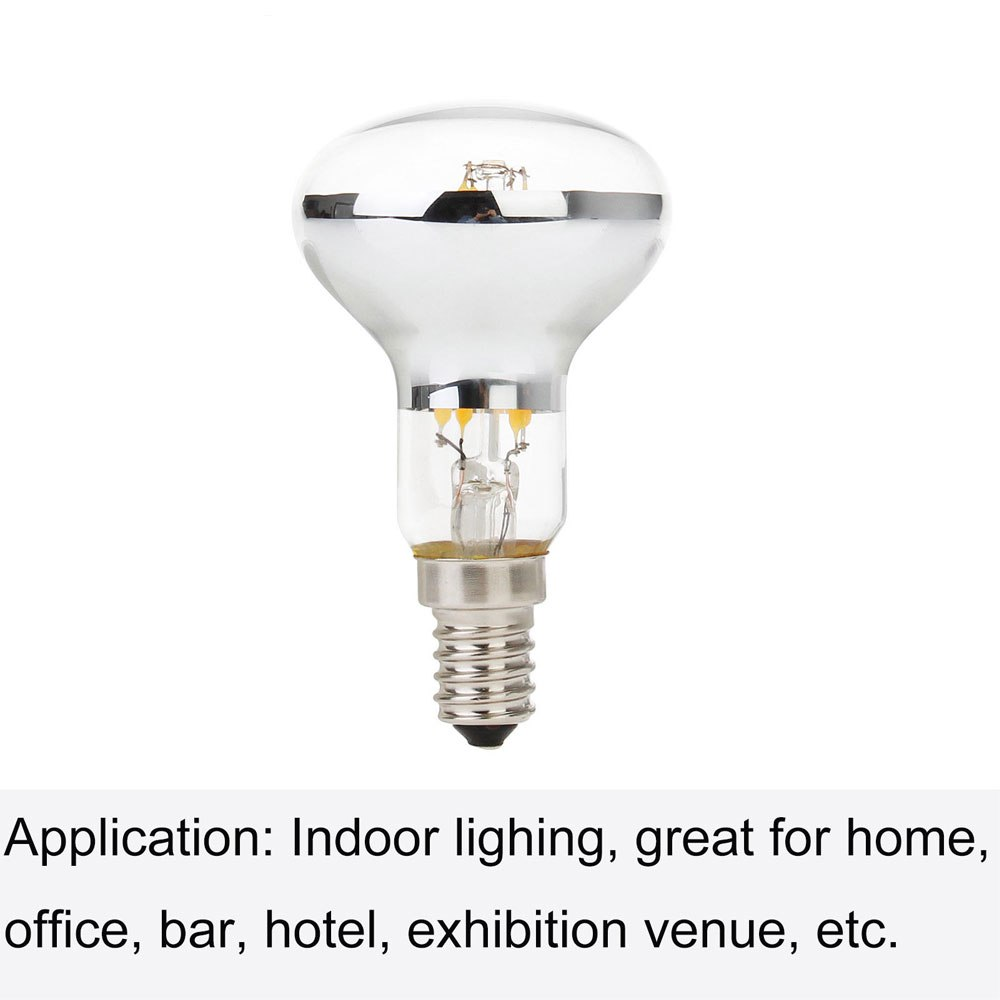 4W 5W E27 R63 R80 LED Edison Bulb AC220V Home Light LED Filament Light Bulb