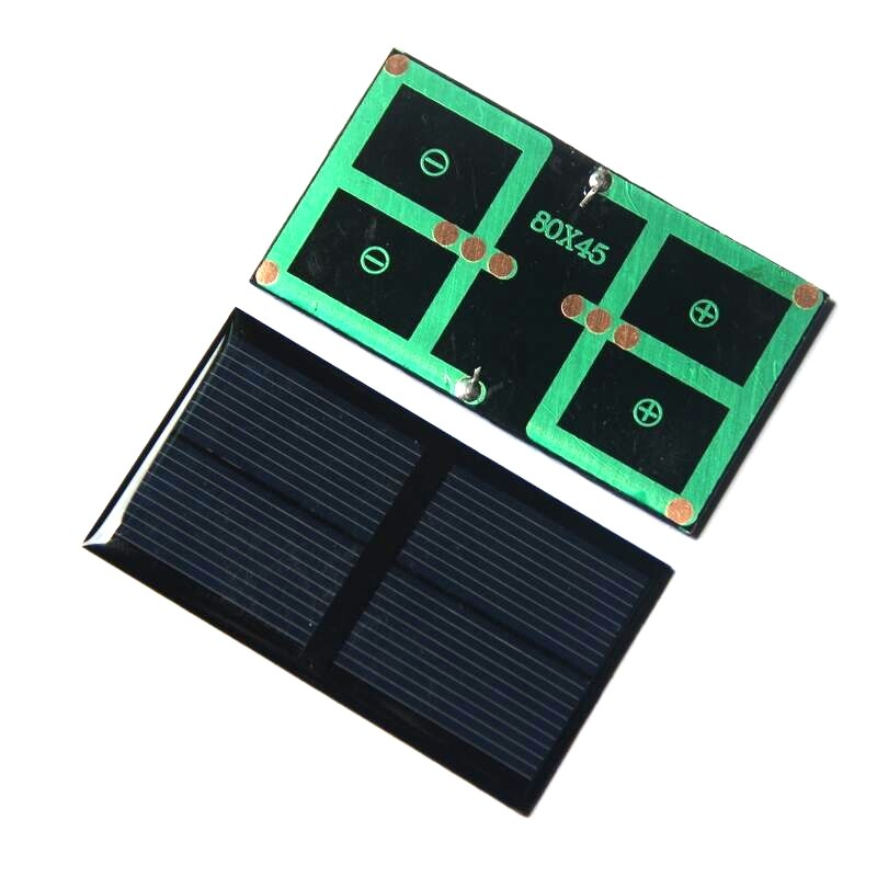 0.5W 1V Polysilicon Epoxy Solar Panel Cell Battery Charger