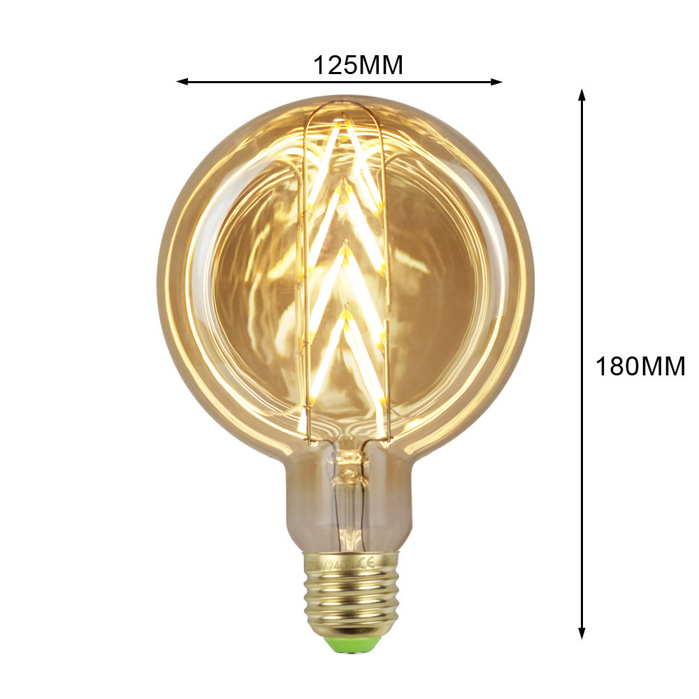 4W E27 RF125 Arrows LED Edison Bulb 220-240V Home Light LED Filament Light Bulb