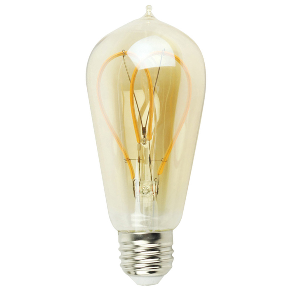 4W E27 ST58 LED Edison Bulb AC85-265V Home Light LED Filament Light Bulb