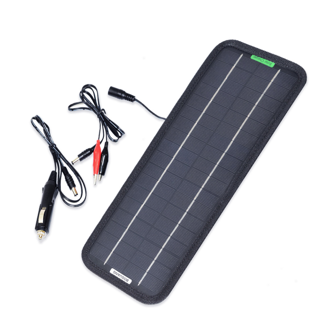 5W 18V Monocrystalline Solar Panel Battery Charger