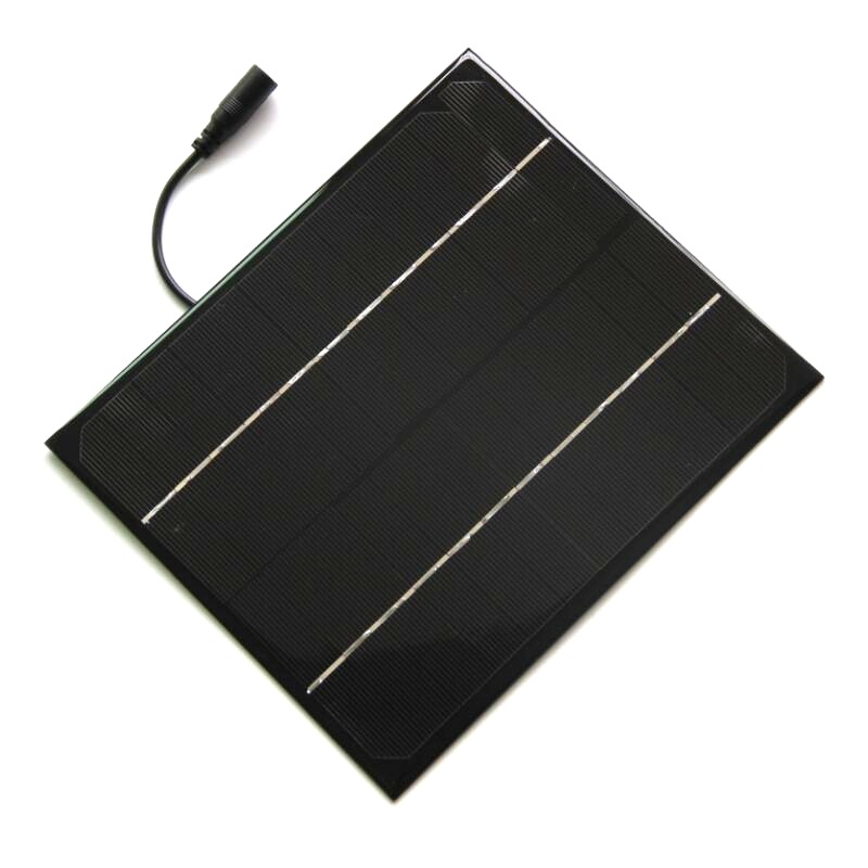 6W 12V Monocrystalline Epoxy Solar Panel Cell Battery Charger