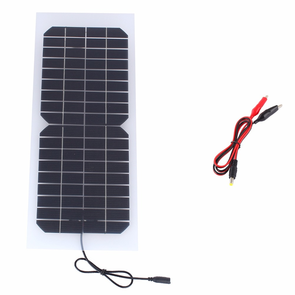 10W 16V Monocrystalline Flexible Solar Panel