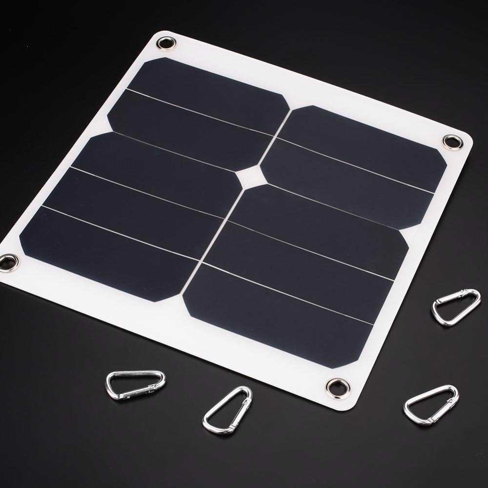 10W 5V Solar Panel Cell Battery Charger