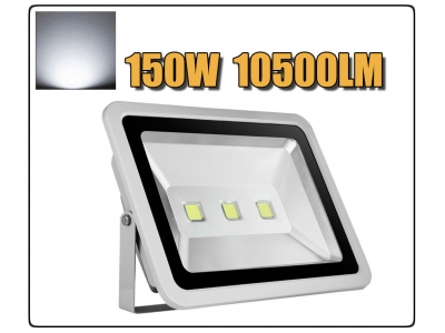 LED Floodlight 10W 20W 30W 50W 100W 150W 200W 300W 400W  Outdoor Lamp AC 85V-265V