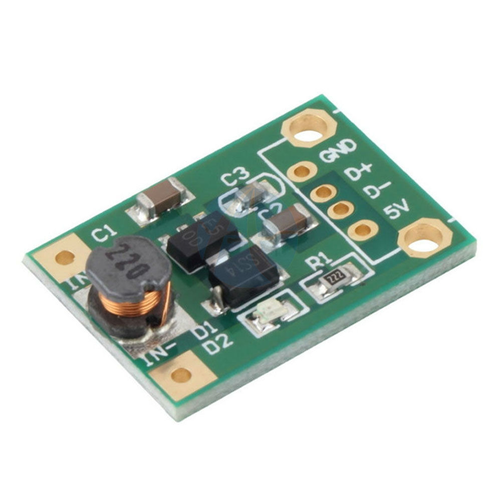 A67 DC Step Up Power PCB Board Module 1-5V To 5V For Arduino