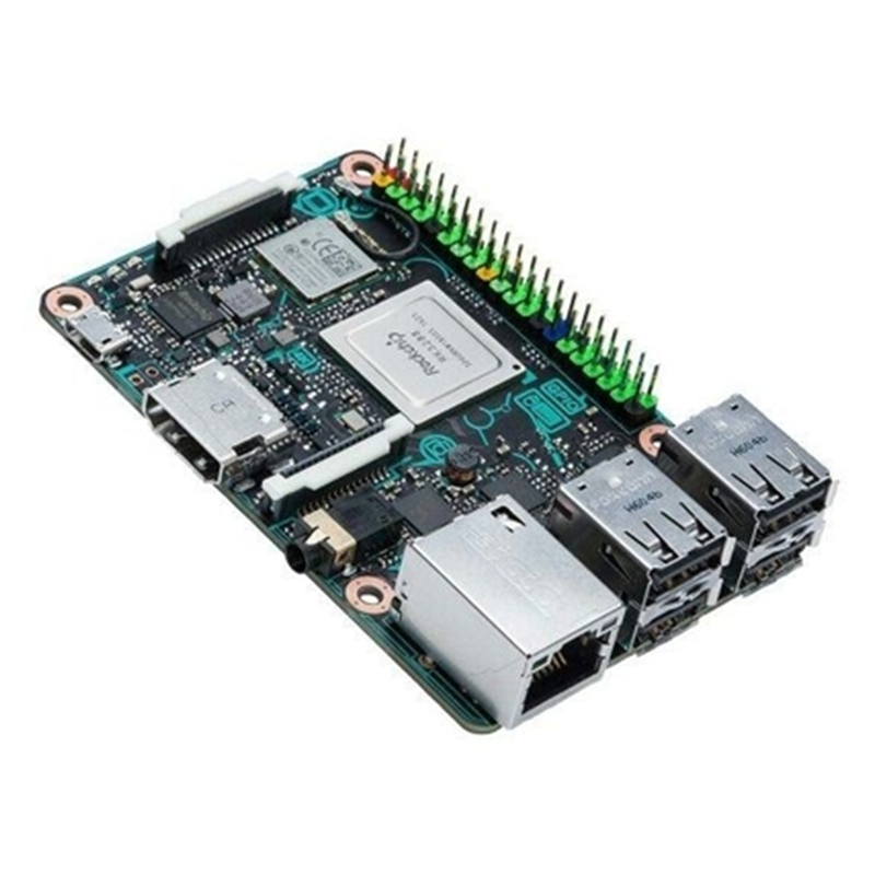 ASUS Tinker Board S RK3288 SoC Onboard 16GB eMMC 1.8GHz Quad Core CPU 2GB LPDDR3