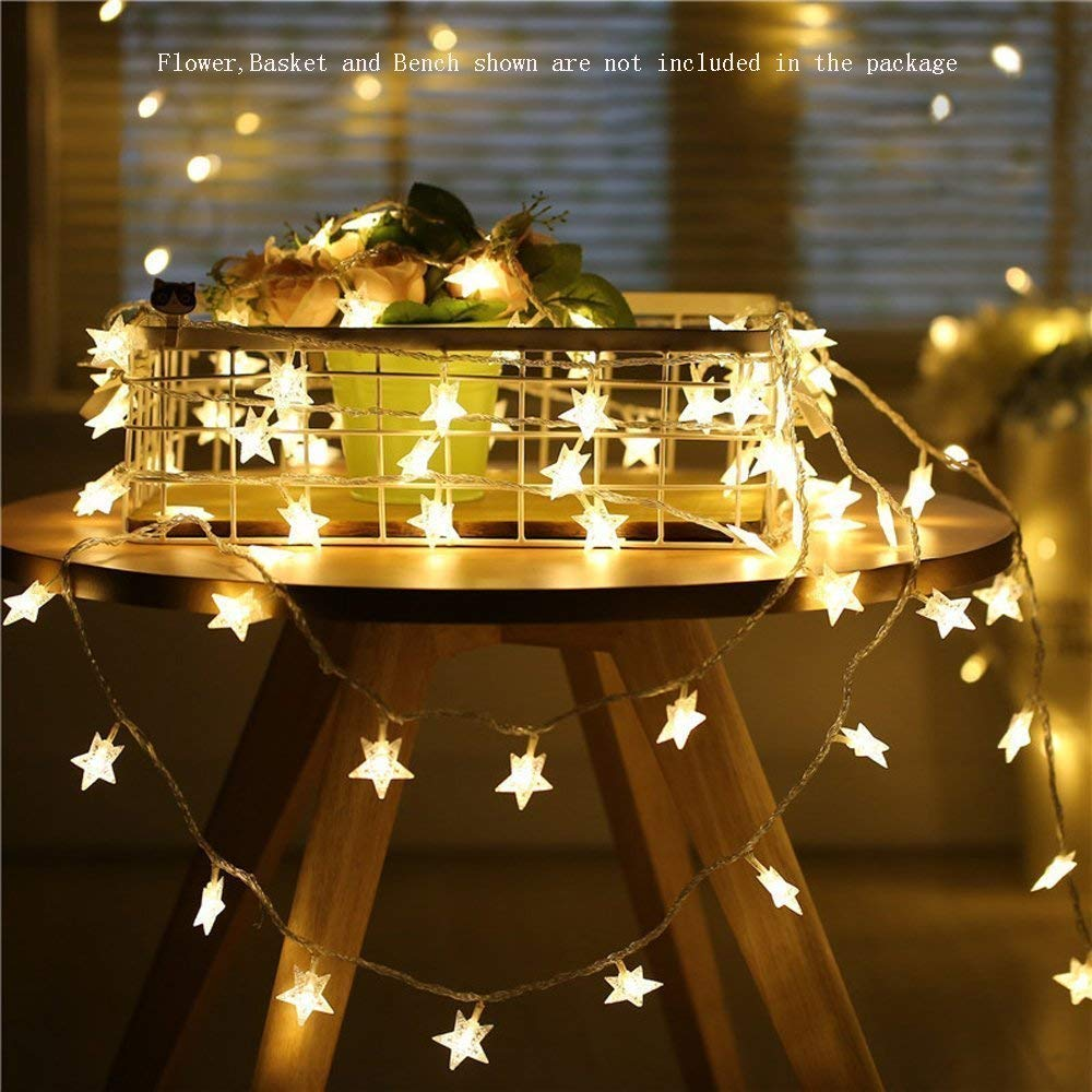 Battery Powered LED Star Light String 1.5M/3M/6M/10M