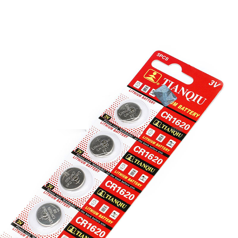 CR1620 3V Button Coin Cell Lithium Battery