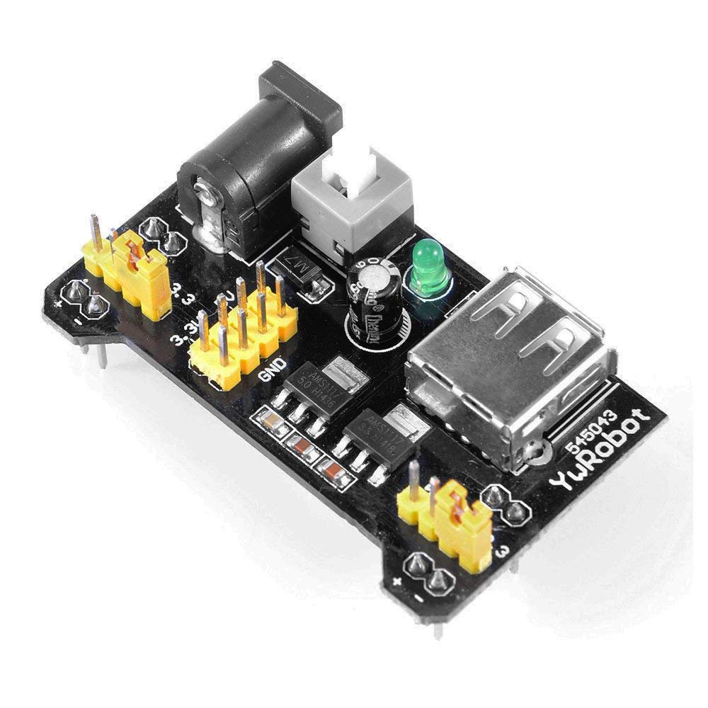 3.3V 5V Power Supply Module for Solderless Breadboard MB-102