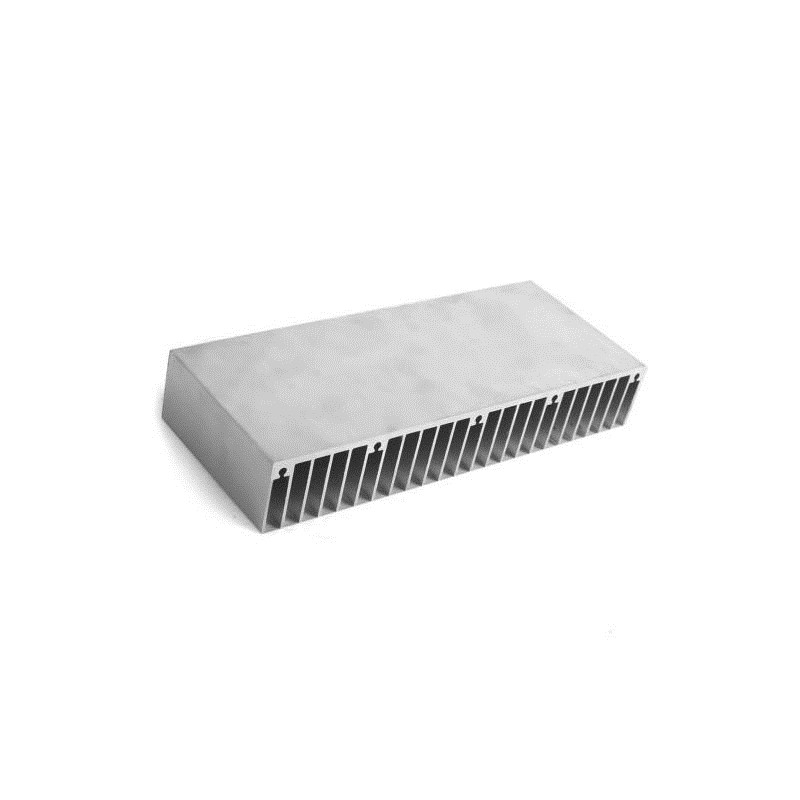 600*150*20mm Rectanglular Aluminum Heatsink Grating Plate Type