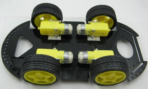 4WD Robot Smart Car Kits Chassis Mobile Platform