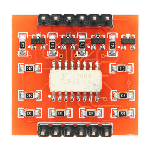 A87 4 Channel Optocoupler Isolation Module High and Low Level Expansion