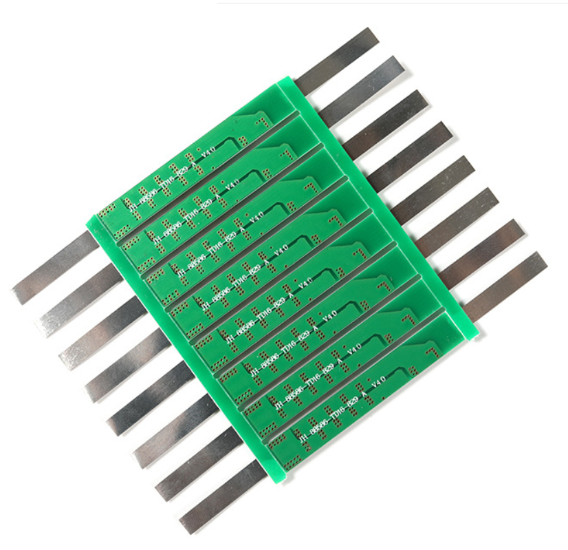 3.7V 4-9A Li-ion Lithium Battery BMS 18650 Charger Overcharge Overdischarge Protection Board With Soldered Nickel Belt