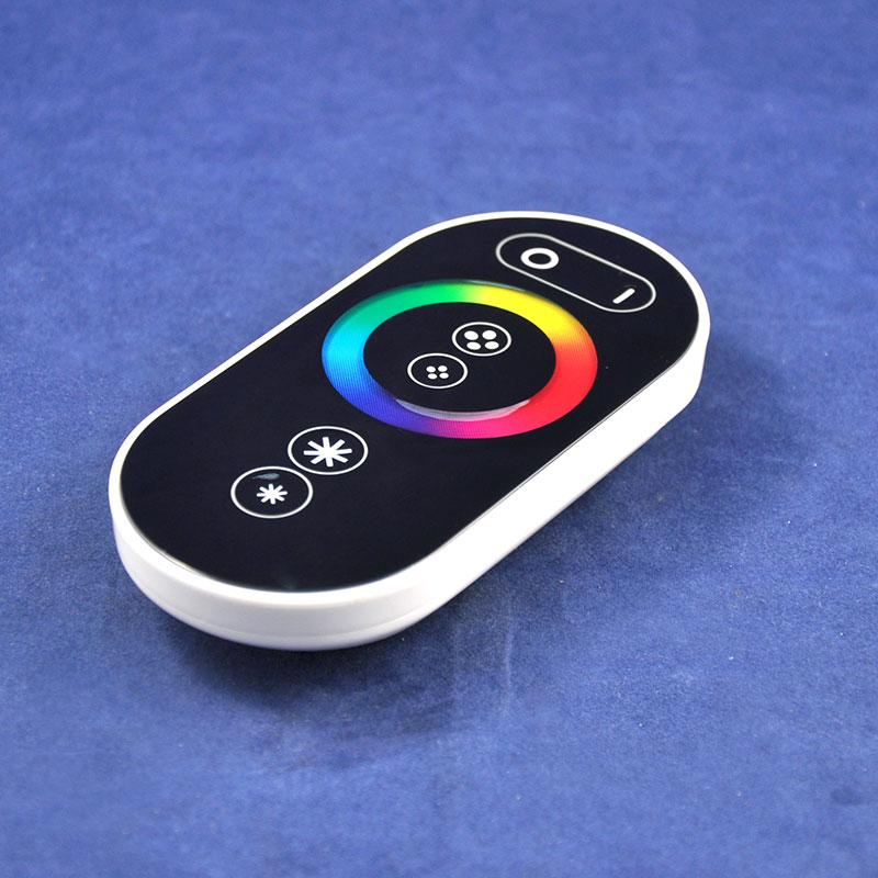 DC12V-24V 3 Channels 433MHz LED Lighting RGB Controller with Full Color RF Touch Remote