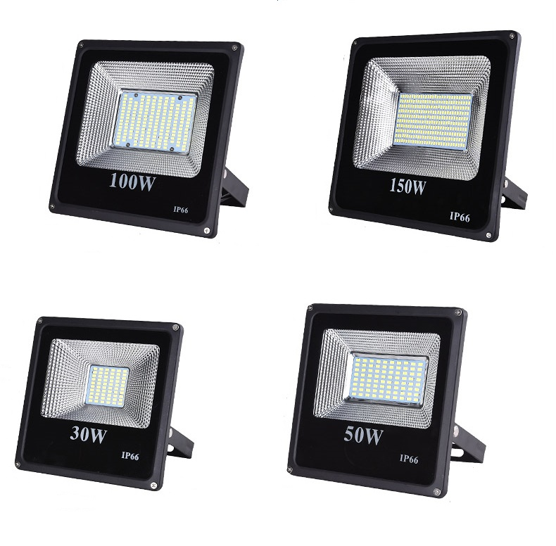 SMD LED Floodlight 10W 20W 30W 50W 100W 150W Outdoor Lighting AC 220V-240V
