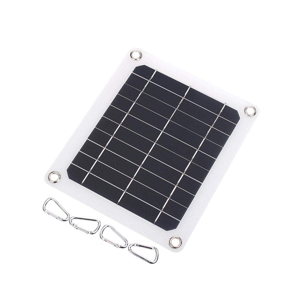 5W 5V Monocrystalline Flexible Solar Panel