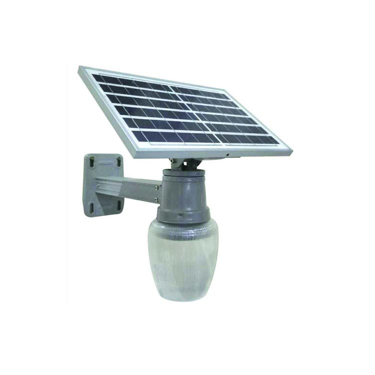6W 9W 12W LED Solar Street Light Apple Shape with Remote Control