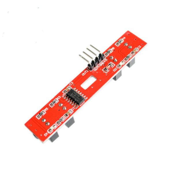 2WD speed measuring module intelligent tracking trolley counter counting module 2 road motor speed measurement