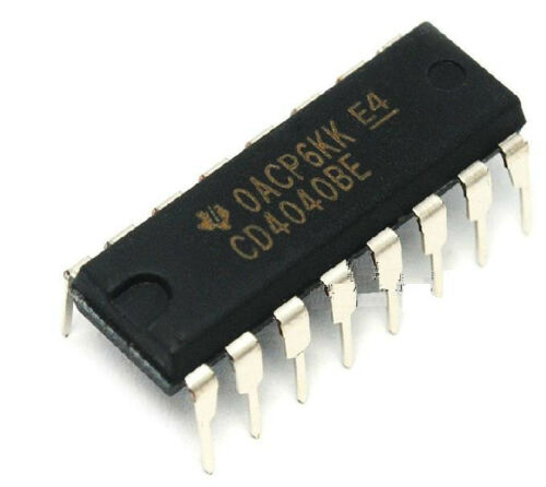 CD4040BE 4040 DIP16 Ripple-Carry Binary Counter/Divider IC