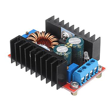 80W DC-DC Converter 10-35V to 1-35V Automatic Step Up Down Module Charger QS-1212CCBD-80W