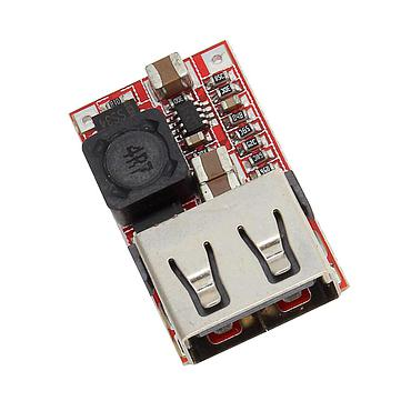 DC-DC Step Down Module 6-24V 12V 24V to 5V 3A Power Supply Charger QS-1205CBUL-3A