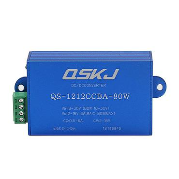 DC-DC Power Supply 8-30V to 2-16V Auto Boost Buck Converter CC CV Charger QS-1212CCBA-80W