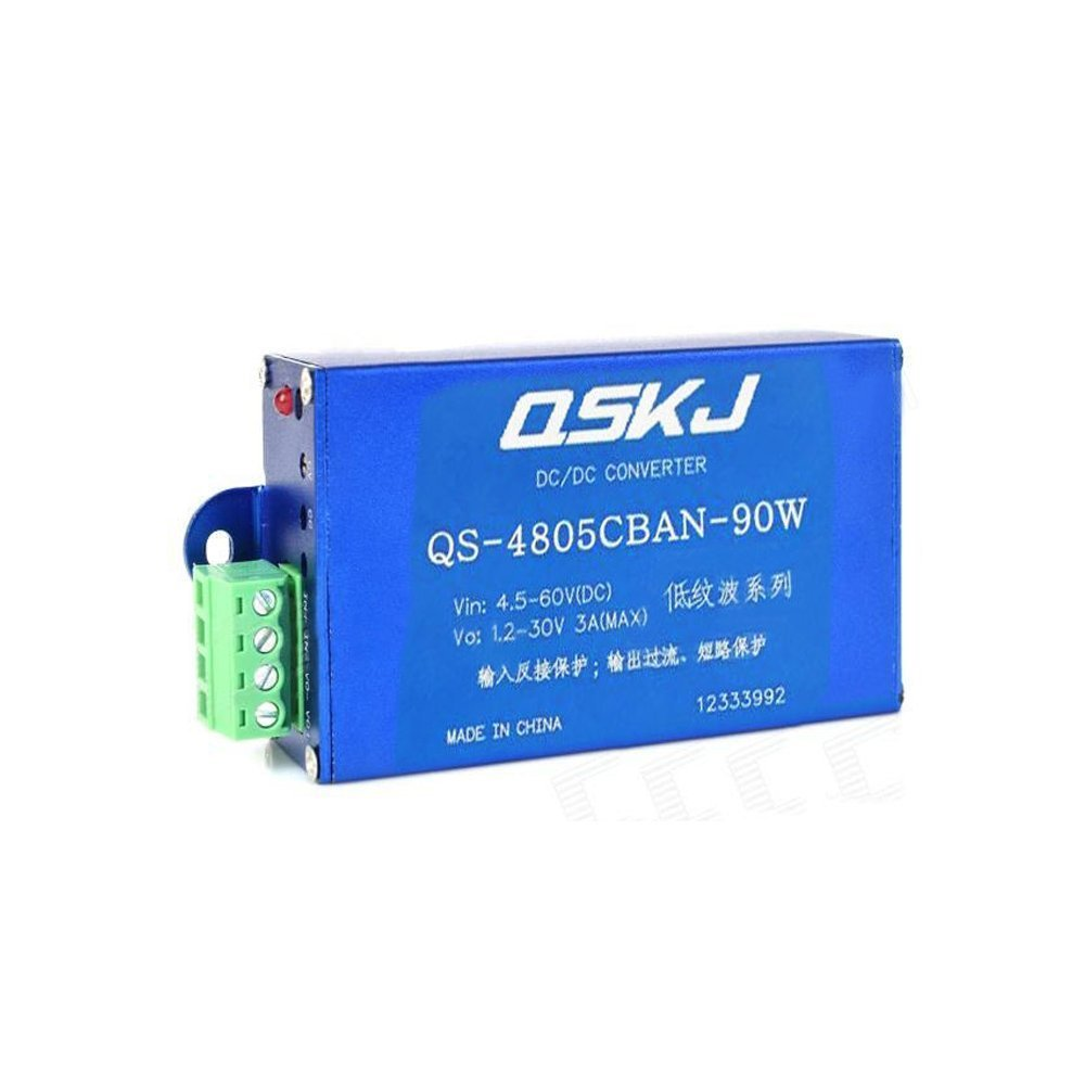 DC-DC Converter 4.5V-60V to 1.2V-30V Adjustable Power Module than LM2576HV QS-4805CBAN-90W