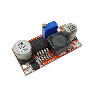DC-DC Converter LM2596HV 48V to 5V/12V Adjustable Step-down Power Supply Module QS-4805CBD-3A