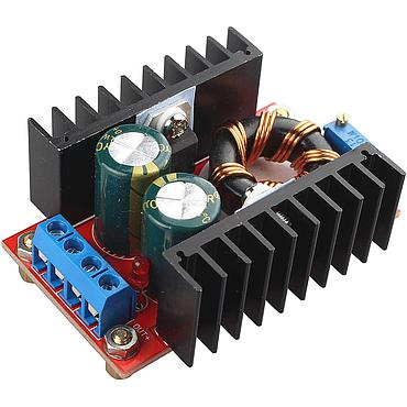 DC-DC Converter 10-32V to 12-35V Step Up Power Supply Module QS-1224CBD-150W