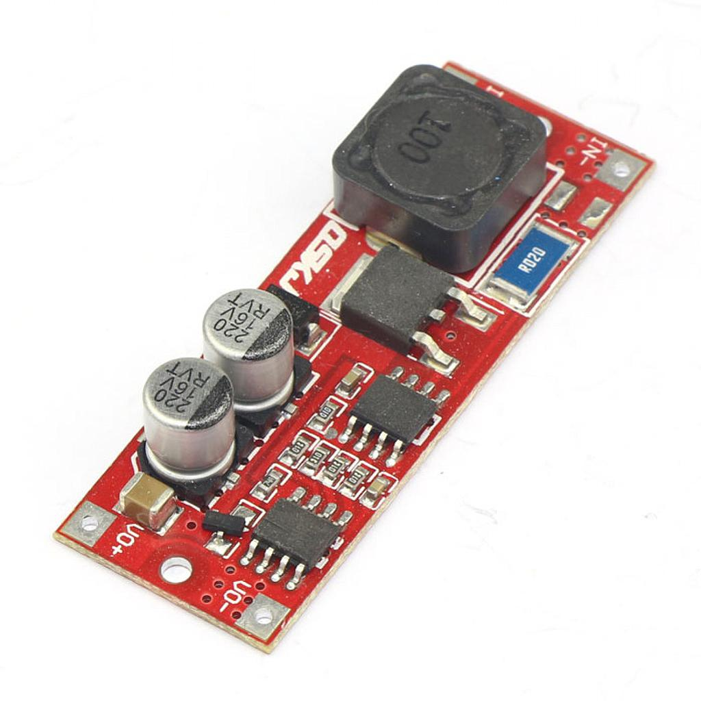 25W Voltage Regulator DC 8-12.6V to 10-14V Boost Converter QS-1113BAT-25W