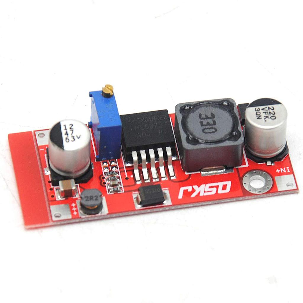 DC-DC Boost Module 4-34V to 4-35V LM2587 Current 5A Switching QS-0324CBDM-15W
