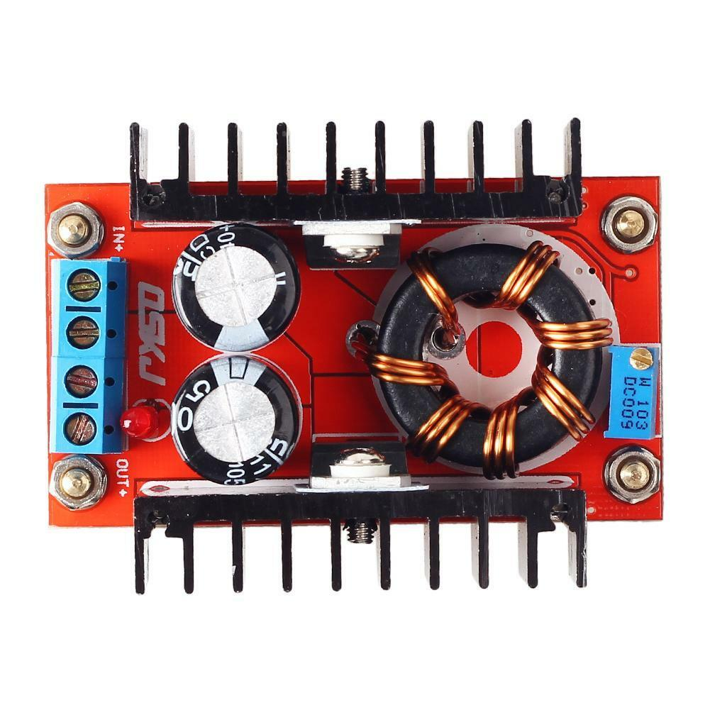 DC-DC Converter 150W 12V to 24V Step Up Module QS-1224CBD-100W