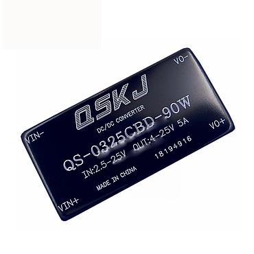 DC-DC Converter 2.5-25V to 3.5-25V 3A-4A Step Up Module QS-0325CBD-90W