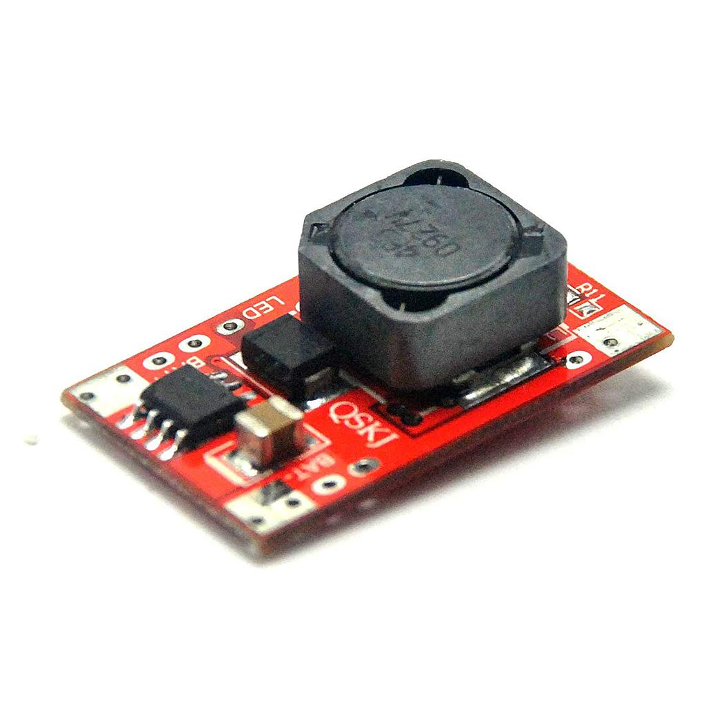 DC-DC 1.4-24V 3A LTC4002 Charging Power Module than MAX1879 QS-12L4.2-2A
