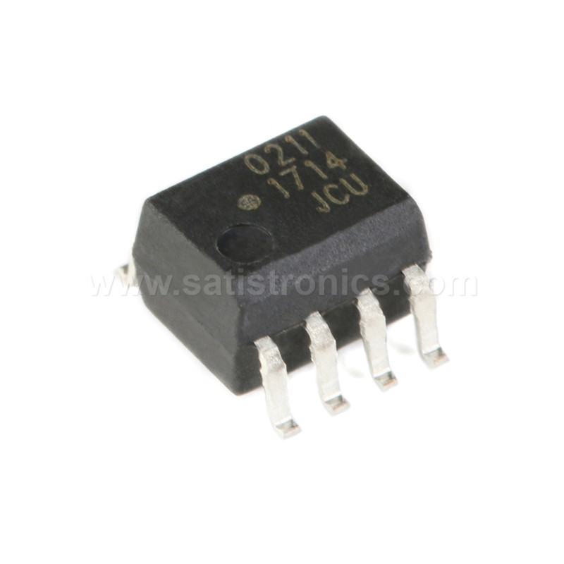 Broadcom HCPL-0211-500E SOIC-8 Optocouplers High CMR Wide Vcc