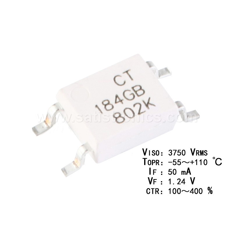 CT Micro CT184GB(T1) SOP-4 Optocouplers Compatible TLP184GB